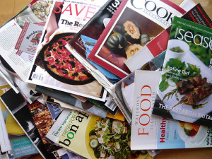 Magazines. Photo by WordRidden via Flickr.
